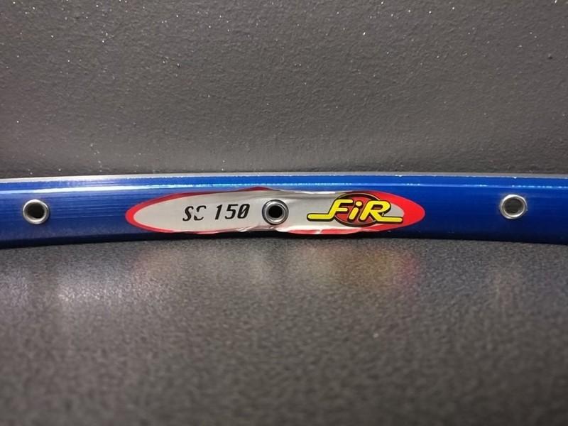 "Rim OUR ""FIR SC150"" 28t Blue"