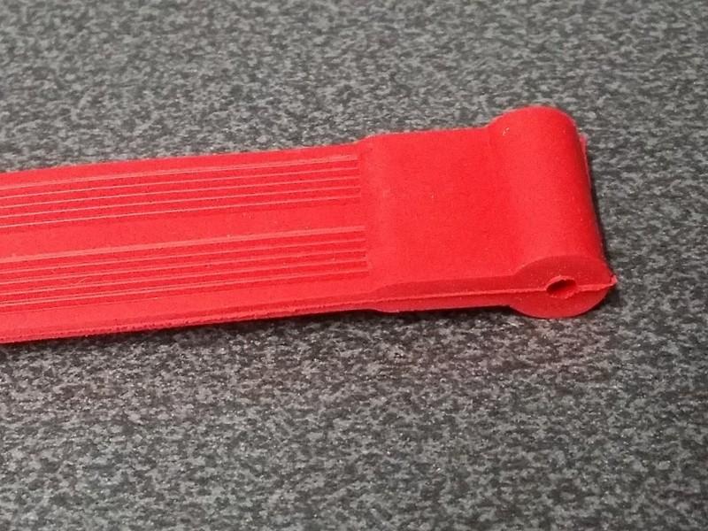 Schutz kettenstreben-Randonneuse (Rot)