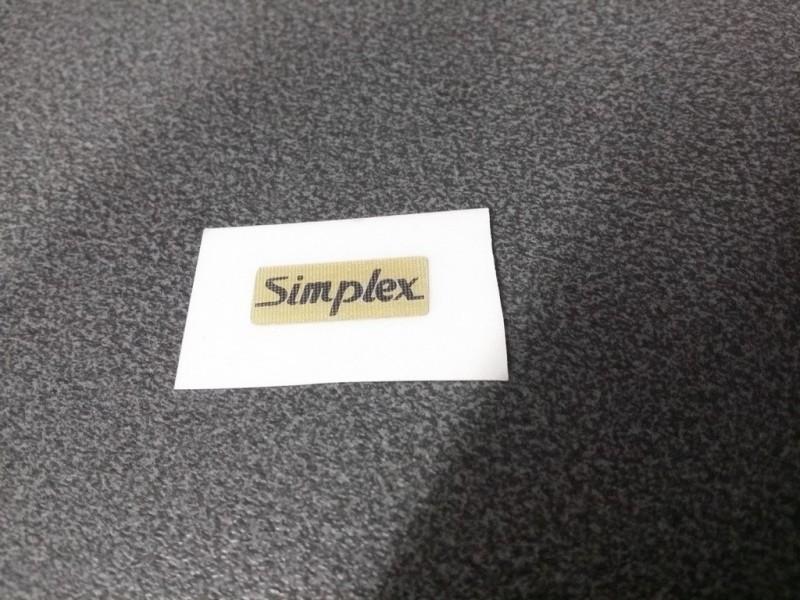 "Adesivo deragliatore ""SIMPLEX"""