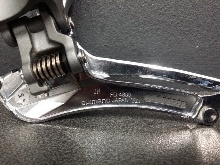 """Deragliatore anteriore """"SHIMANO TIAGRA"""" 2x10 (Rif 622)"""
