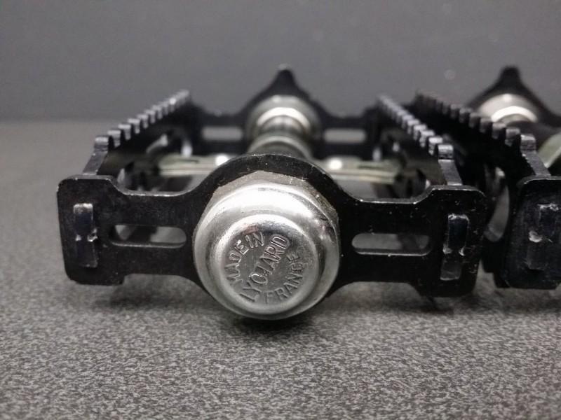 """Pédales """"LYOTARD 460D Black"""" FR (Ref 356)"""