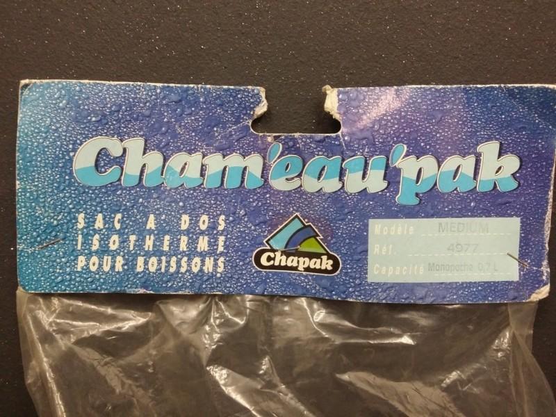 "Tasche backbone ""wasser CHAPAK 0.7 L"""