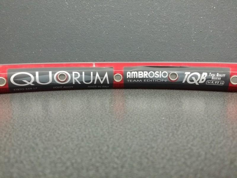 """Rim 26"""" MTB OUR """"AMBROSIO QUORUM"""" 36t"""