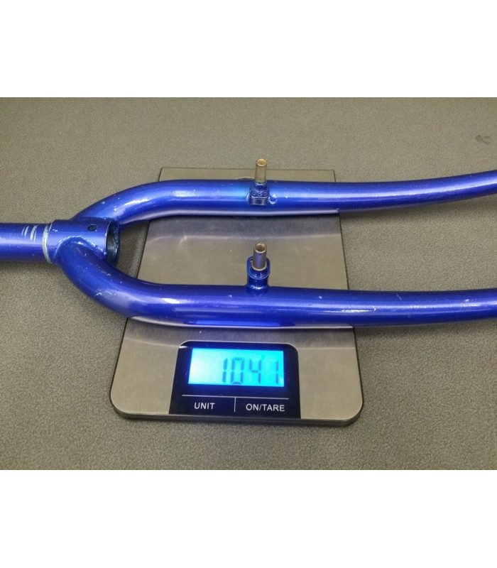 Fork mountain BIKE 26-inch-steel Blue (Ref 05)