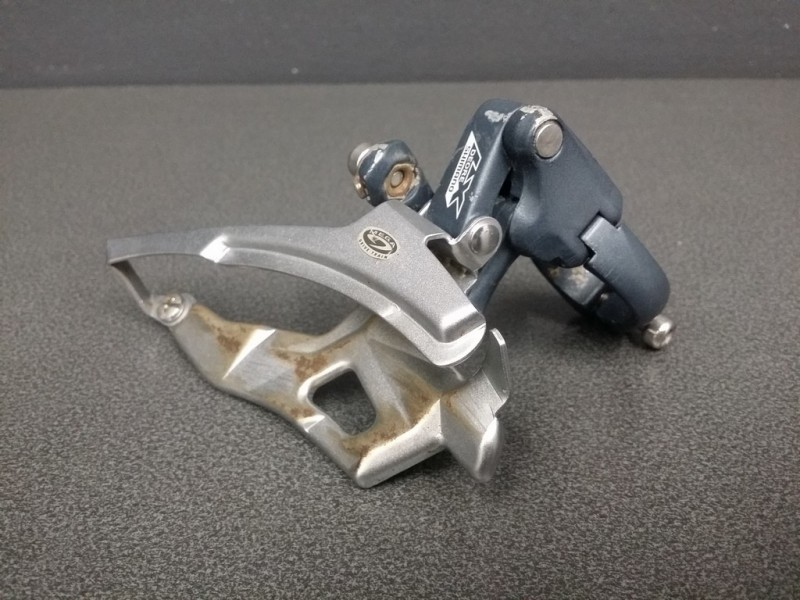 """Deragliatore anteriore """"SHIMANO LX Triple (Rif 669)"""
