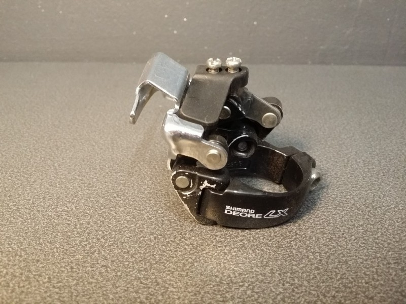 "Umwerfer ""SHIMANO DEORE LX"" triple (Ref 718)"