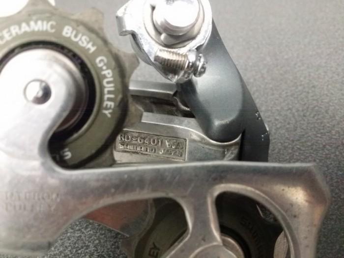 """Dérailleur arrière """"SHIMANO 600"""" 8v (Ref 732)"""