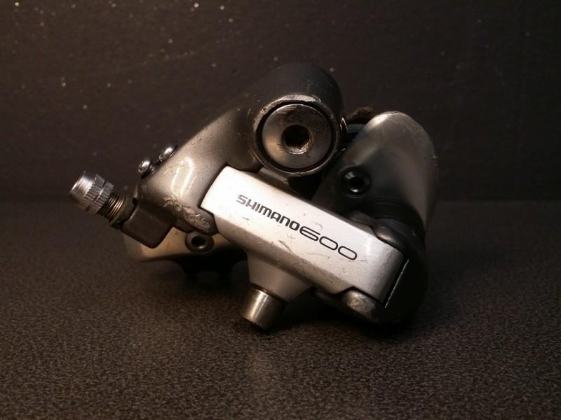 """Dérailleur arrière """"SHIMANO 600"""" 7v (Ref 739)"""