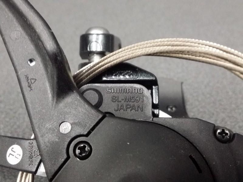 "Thumb Forward gears ""SHIMANO DEORE"" triple (Ref 294)"