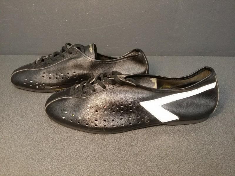 """Zapatos de NUESTRA """"AGIRO negro/blanco-Tamaño de 39 (Ref 07)"""