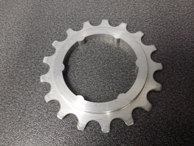 "Sprocket freewheel CAMPAGNOLO SR 50th"" 17d (Ref 11)"