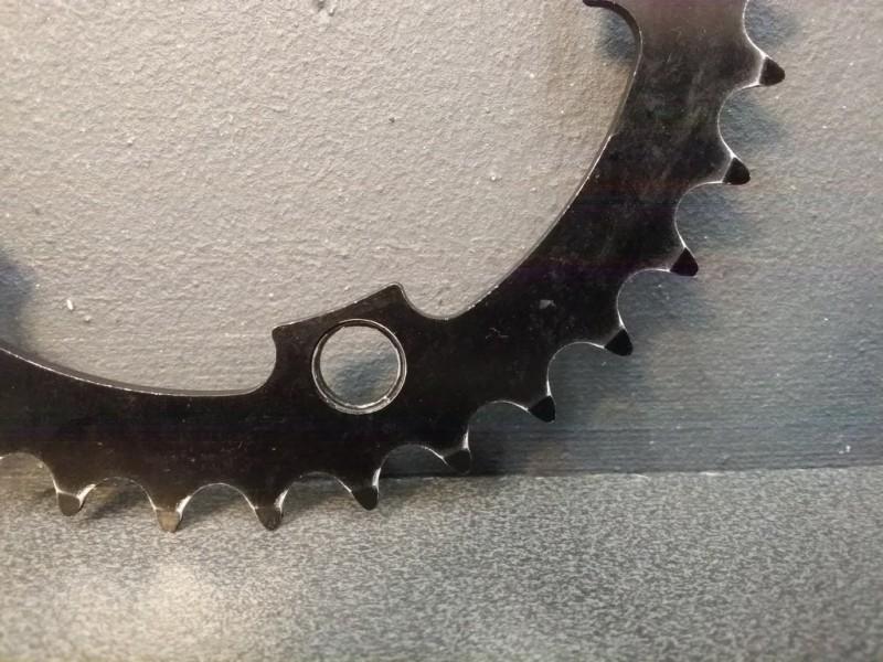 """La meseta de BMX """"SINZ"""" 35d BCD 110 (Ref 356)"""