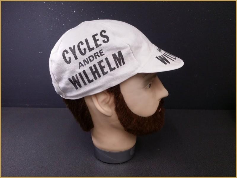 """Cap """"CYCLES WILHELM"""" (Ref 83)"""