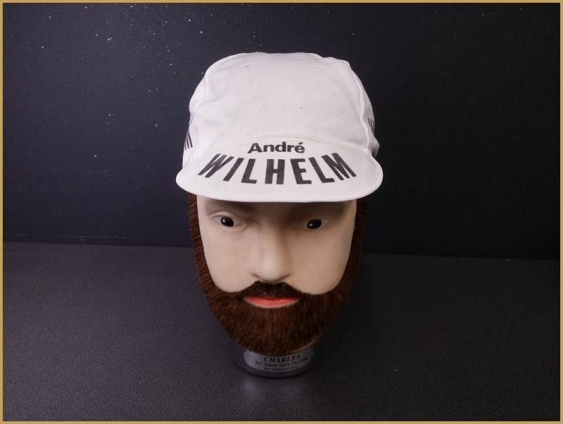 "Casquette ""CYCLES WILHELM"" (Ref 83)"