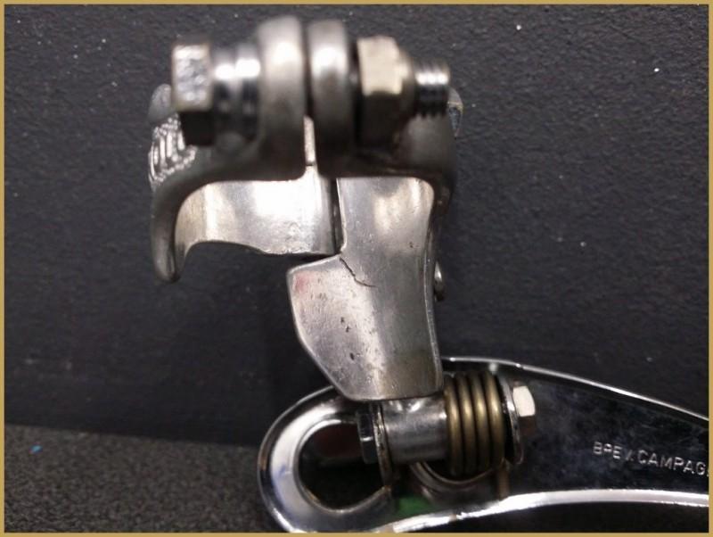 """Deragliatore anteriore CAMPAGNOLO RECORD"""" (Mvr 800)"""