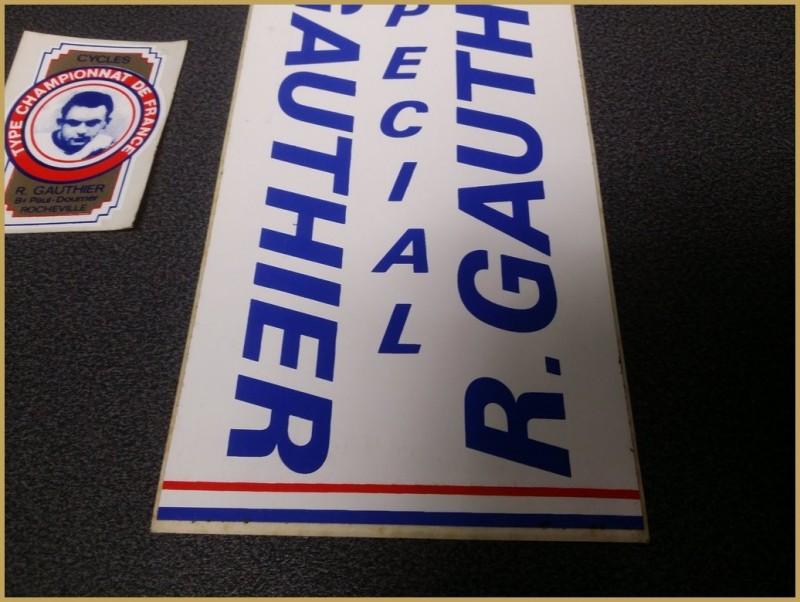 """Stickers NOS """"GAUTHIER"""" (Ref 01)"""
