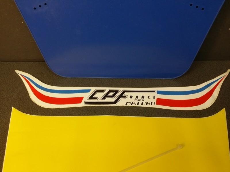 Plaque de course BMX (Ref 03)