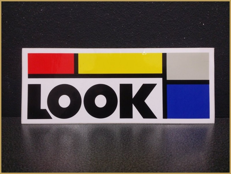 "Sticker ""LOOK grand format"" NOS"