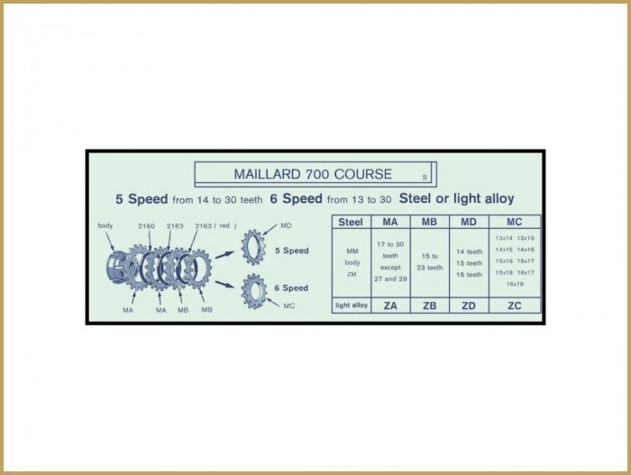 "Piñón NOS ""Maillard MA"" 32d"