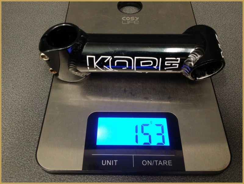 "Potence ""KORE"" 120mm  (Ref 486)"