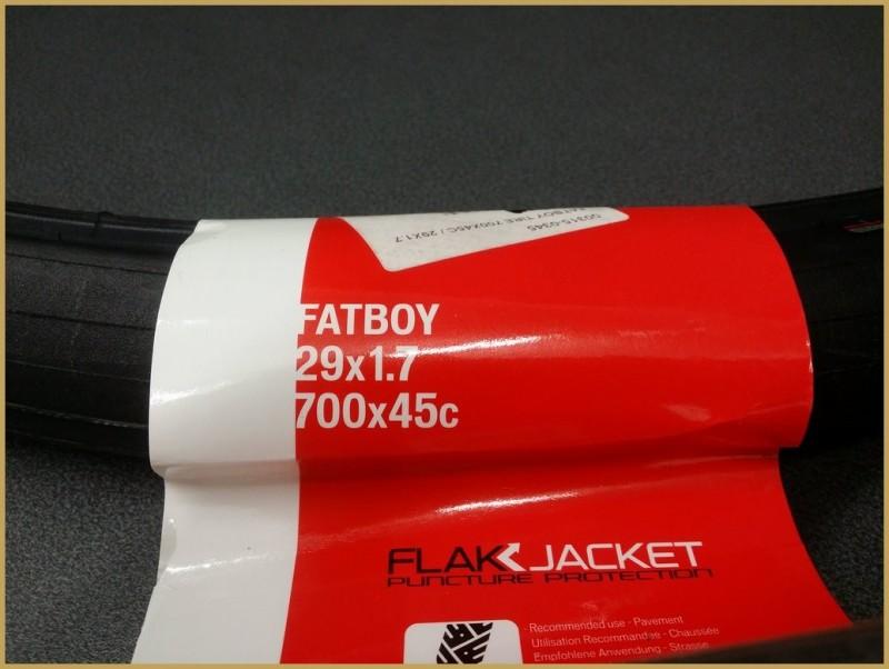 """Pneu """"SPECIALIZED FATBOY BLACK 700 x 45"""""""