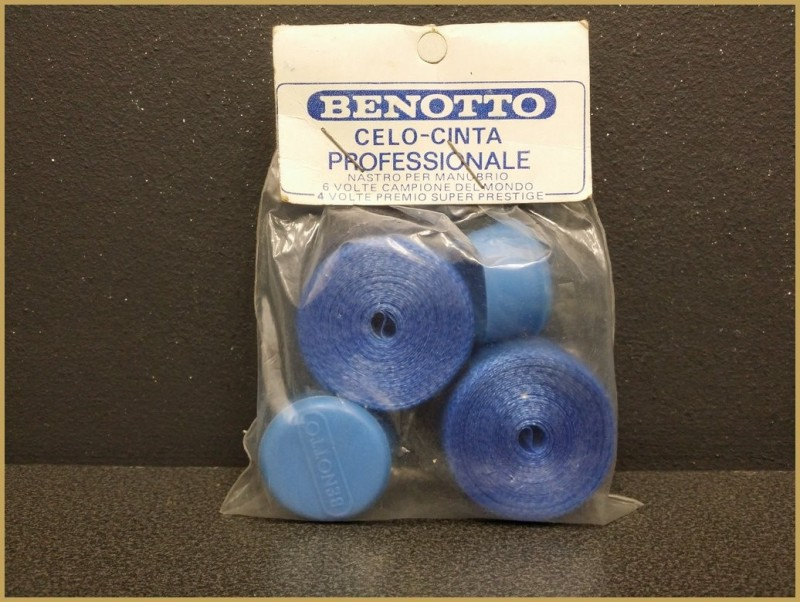 "Handlebar tape OUR ""BENOTTO blue"" (Ref 35)"