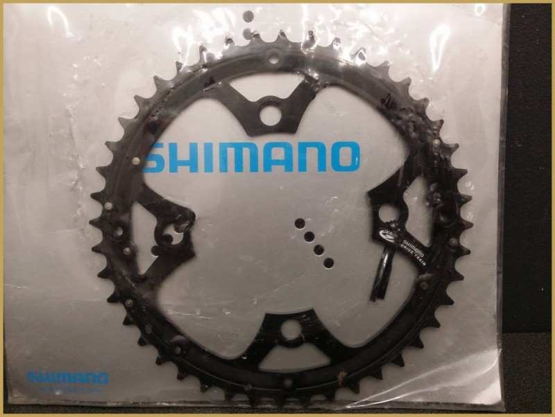 "Plateau NOS ""SHIMANO 44d"" (Ref 427)"