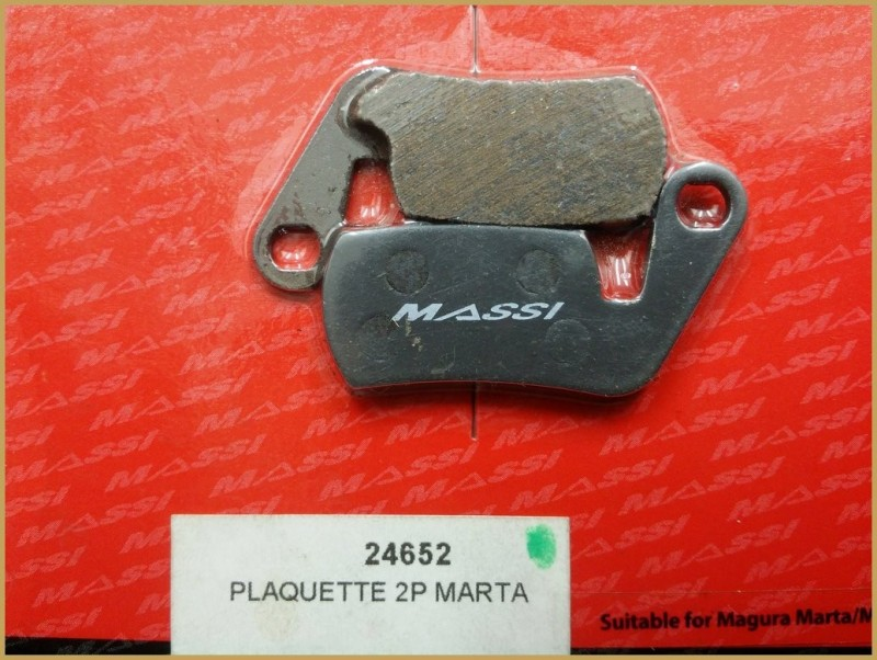 "Disc brake pads for ""MAGURA MARTA"" (Ref 57)"