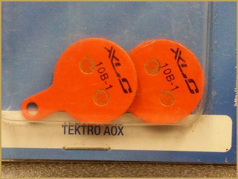 "Pastillas de freno de disco ""TEKTRO AOX"" (Ref 27)"
