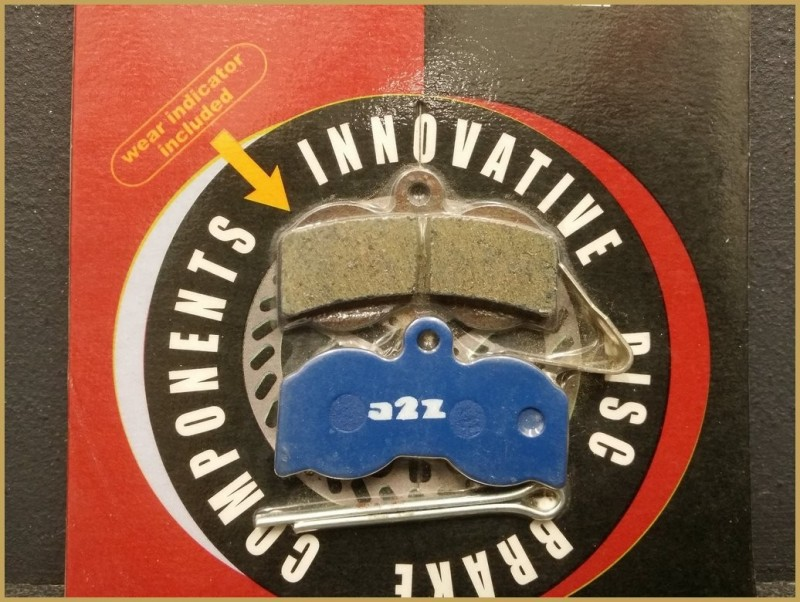 "Pastiglie per freni a disco SPERANZA XC 4-pistone"" (Rif 26)"