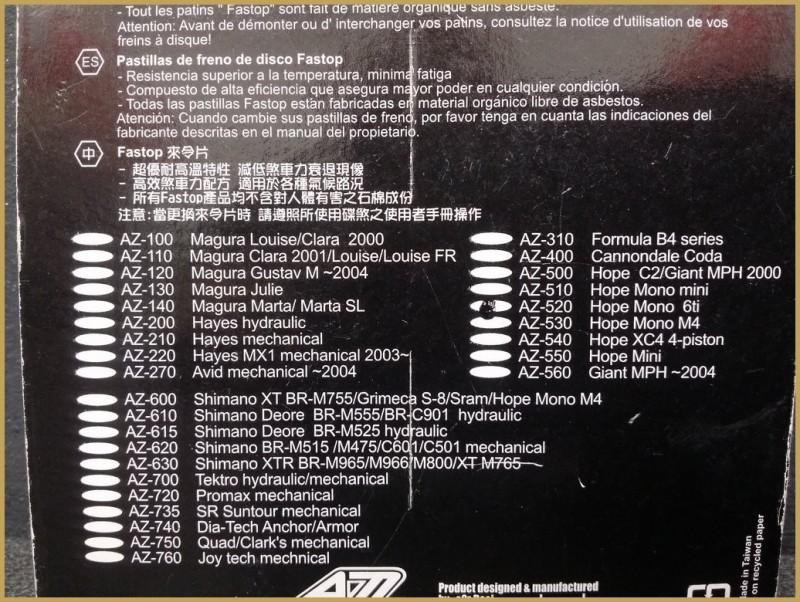 """Plaquettes de frein à disque """"HOPE MONO 6Ti"""" (Ref 31)"""