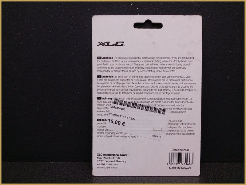 "Disc brake pads for ""AVID BB5"" (Ref 32)"