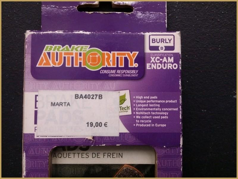 "Disc brake pads for ""MAGURA MARTA"" (Ref 34)"