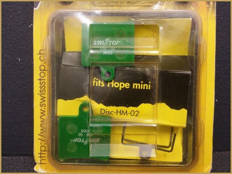 """Plaquettes de frein à disque """"HOPE MINI"""" (Ref 36)"""