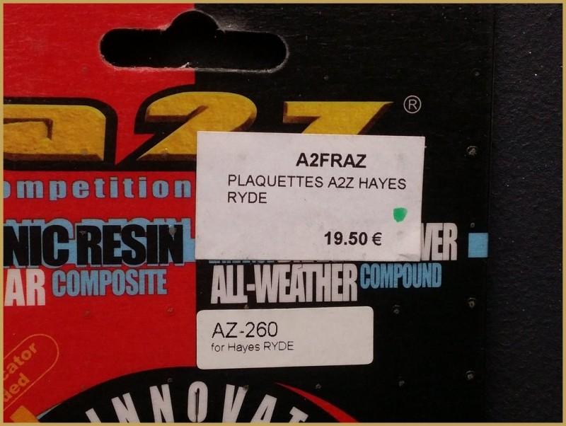 "Disc brake pads ""HAYES RYDE"" (Ref 53)"