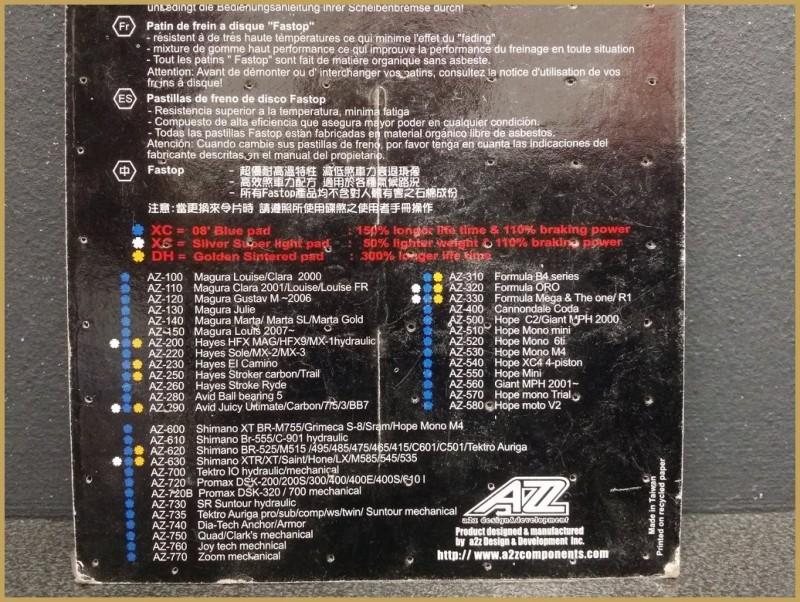 """Plaquettes de frein à disque """"HAYES RYDE"""" (Ref 53)"""