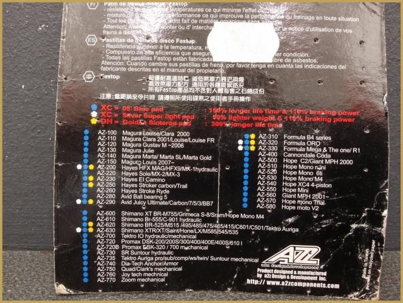 "Plaquettes de frein à disque ""SHIMANO / TEKTRO"" (Ref 55)"