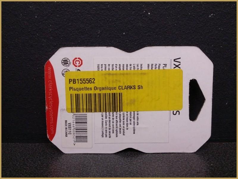 """Disc brake pads """"SHIMANO / TEKTRO"""" (Ref 61)"""