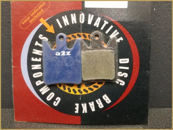 "Disc brake pads HOPE MOTO V2"" (Ref 39)"