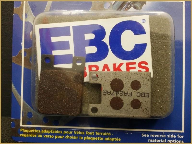 "Disc brake pads HOPE TECHNOLOGY DH"" (Ref 41)"
