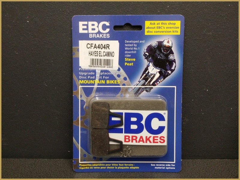 "Disc brake pads ""HAYES EL CAMINO RED"" (Ref 42)"