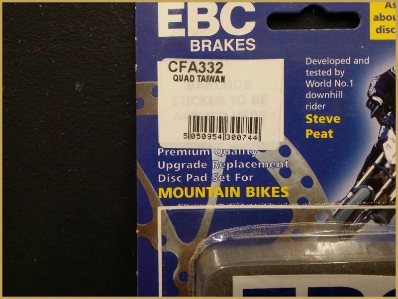"Disc brake pads QUAD TAIWAN"" (Ref 44)"