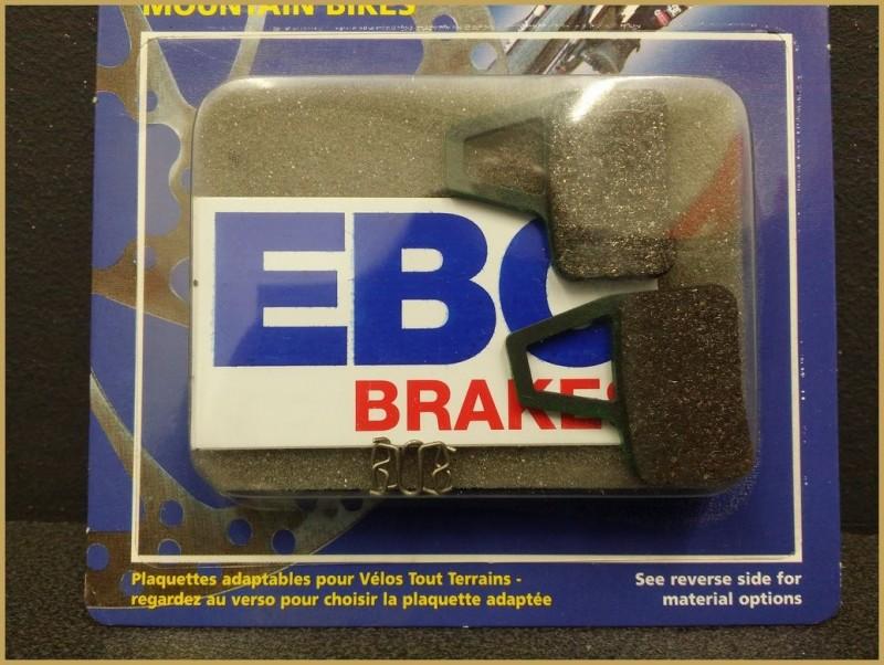 "Disc brake pads ""HAYES EL CAMINO GREEN"" (Ref 45)"