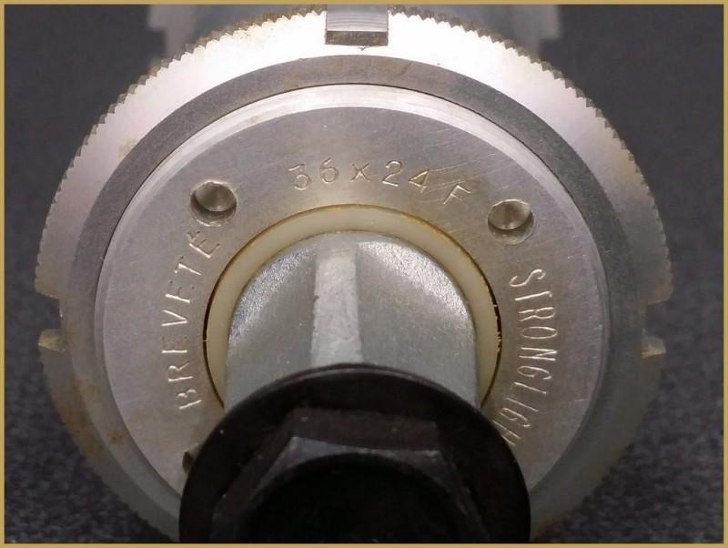 "Manivela NOS ""STRONGLIGHT 700A"" 118mm ITALIANO (Ref 204)"
