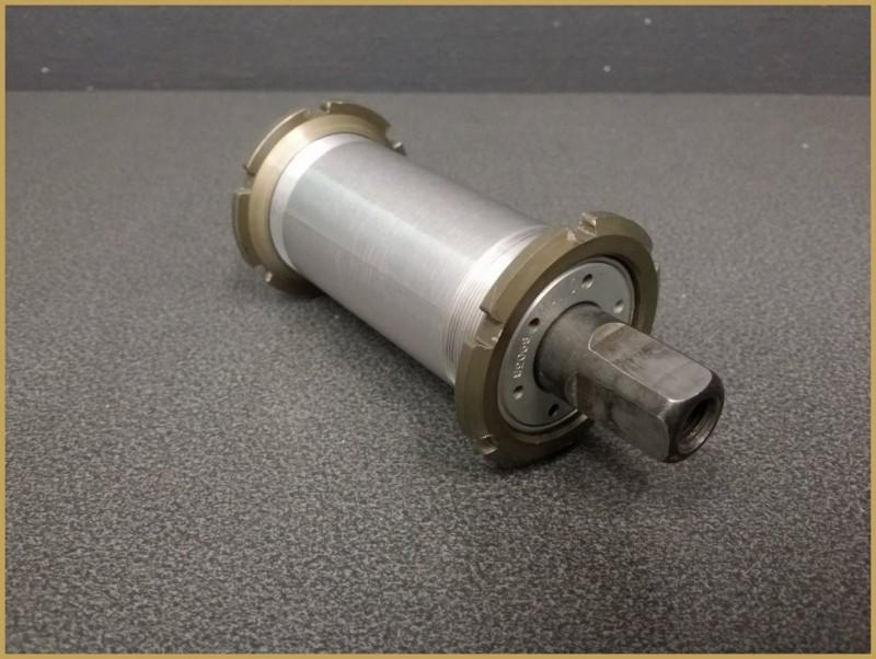 """Axe de pédalier """"MAVIC 610"""" 121mm (Ref 197)"""