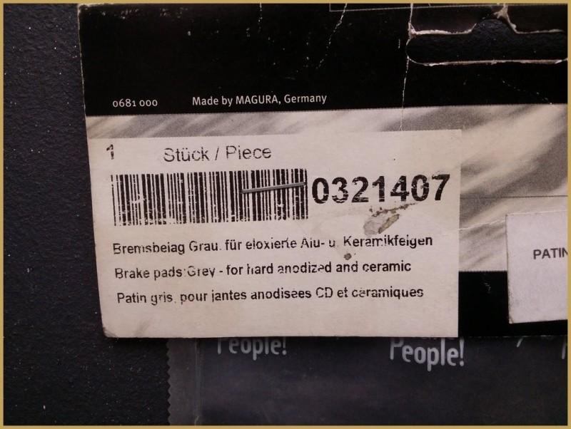 "Patins NOS ""MAGURA HS33 / HS22 / HS11"" ceramic (Ref 29)"