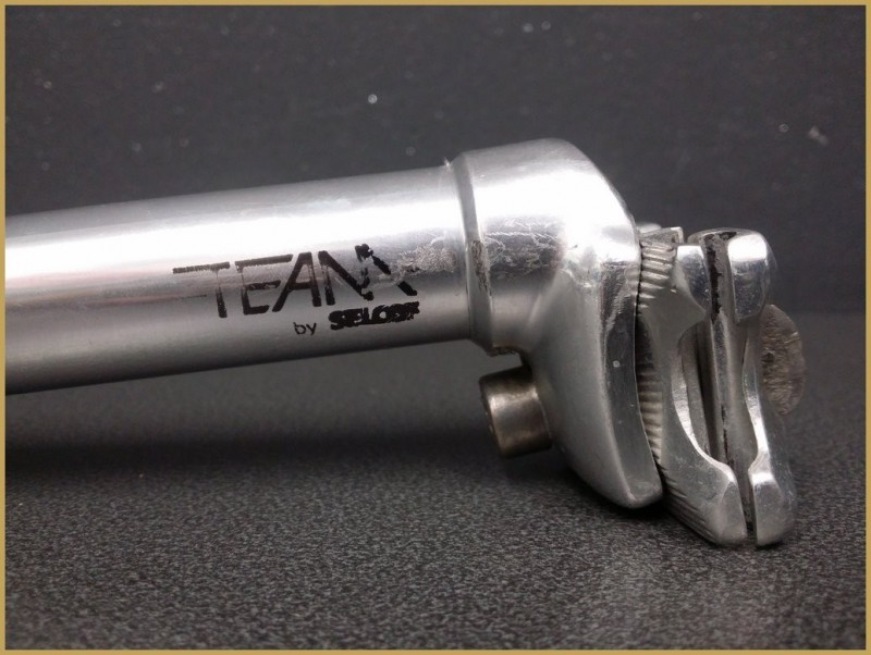 "Seatpost ""SECOF TEAM"" Ø25 (Ref 292)"
