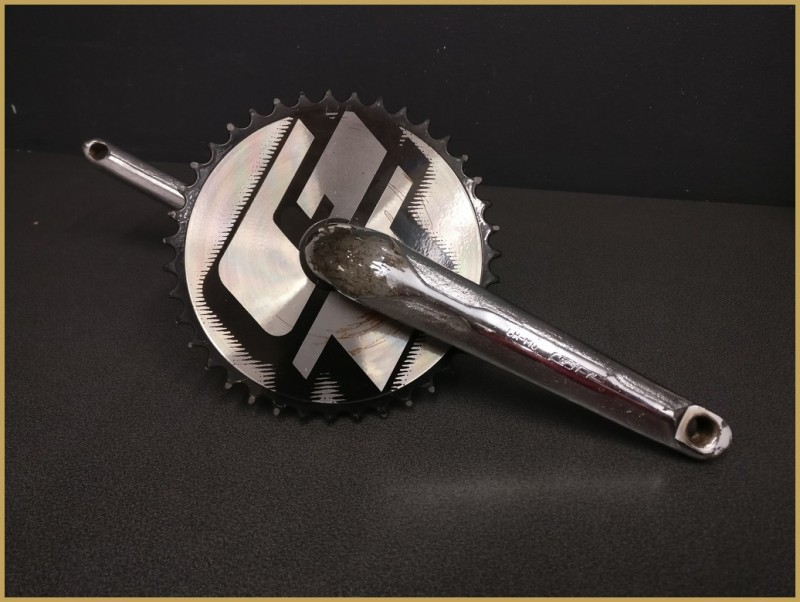 "Pédalier BMX ""GT RACE"" 175mm (Ref 491)"