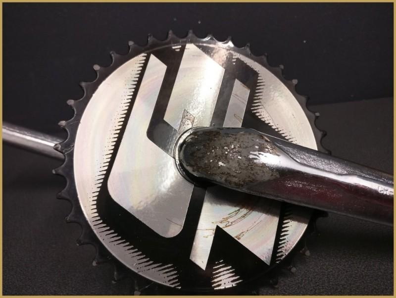 """Kurbelgarnitur BMX """"GT-RACE"""" 175mm (Ref 491)"""