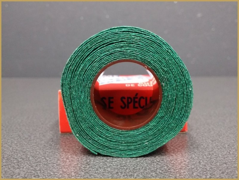 "Handlebar tape OUR ""GUIDOPLAST"" Green (Ref 51)"